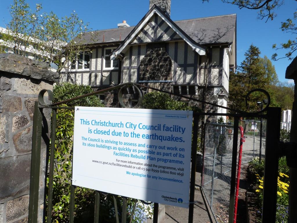 Closed CC Building